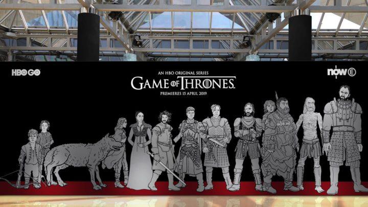 全港首個《 權力遊戲 》主題展覽 「鐵王座」登陸香港太古城