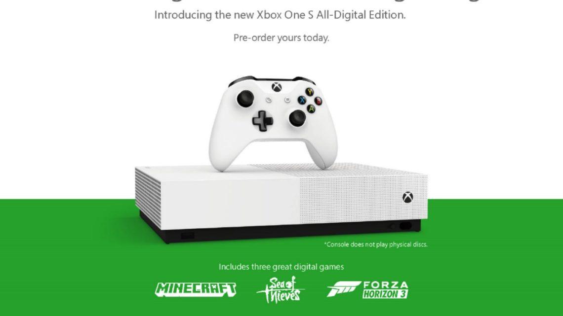 數碼版 Xbox One S 主機正式爆光  Xbox Game Pass Ultimate 不日登場