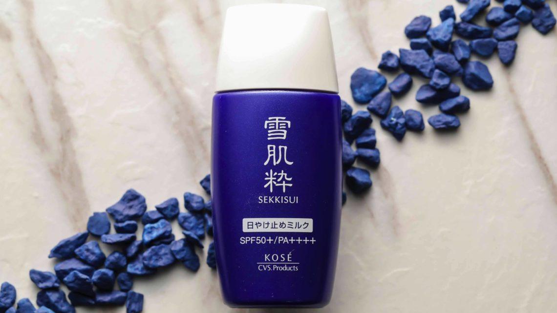 日本 7-Eleven 與 KOSÉ 共同開發 「 雪肌粋 」防曬乳液 SPF50 登陸香港