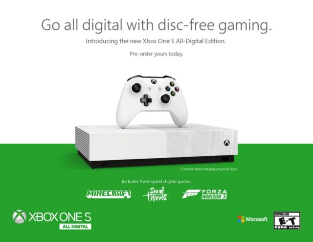 無碟版二千入手! 數碼版 Xbox One S 賣 HK$1,980 Game Pass 首 3 個月僅 HK$10