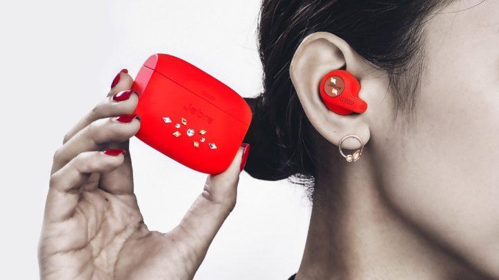 Jabra Elite Active 65t Swarovski 元素的水晶限量版耳機+耳環套裝