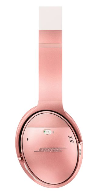 BOSE QuietComfort 35 II 無線消噪耳機推出玫瑰金限量版