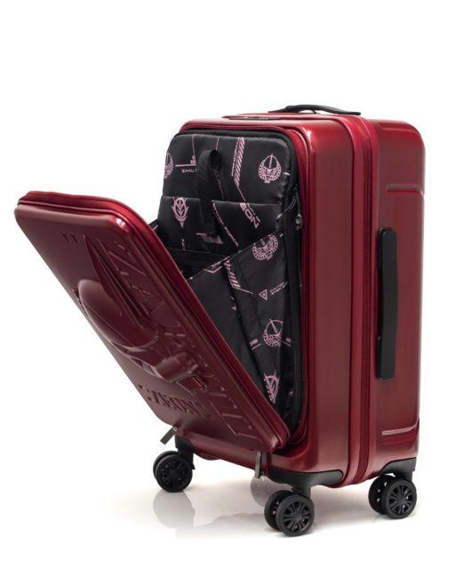 高達迷留意! 馬沙專用的紅色配色「 紅彗星 Zaku II 」旅行喼型爆機場
