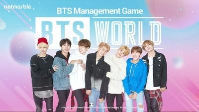 在《 BTS WORLD 》中擔任 BTS 的經紀人吧!