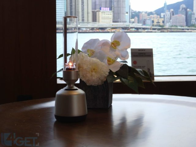 玻璃喇叭扮蠟燭燈? Sony 推出 LSPX-S2 360 度環繞聲效揚聲器