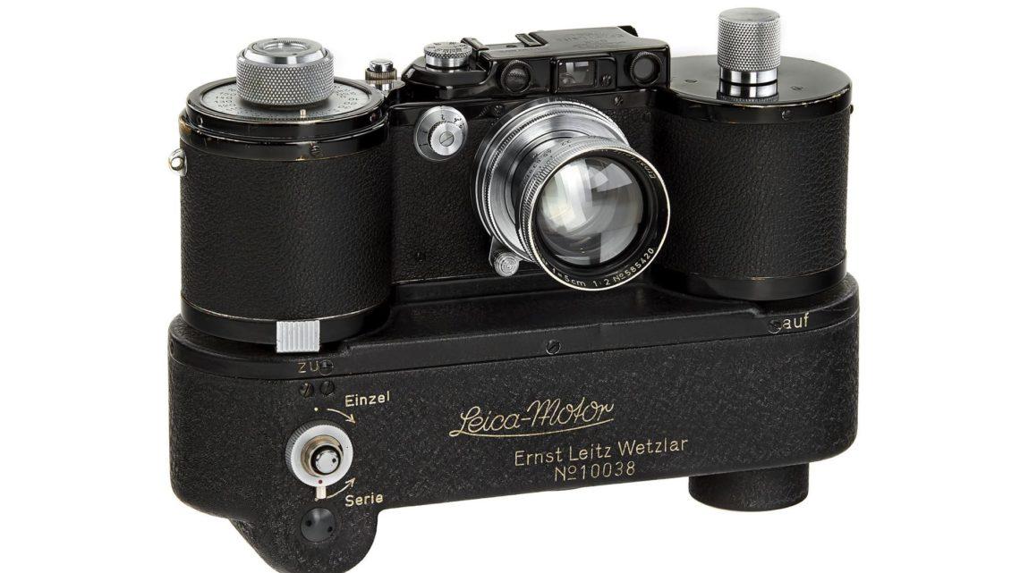 Leitz Photographica Auction 舉行   百萬歐元 Lecia MP-2 現身拍賣