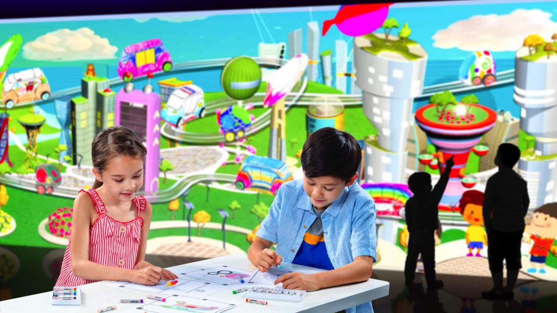 大自然光影互動展館「 e-Planet 夢想星球 」  四大光影展區潮人打卡熱點