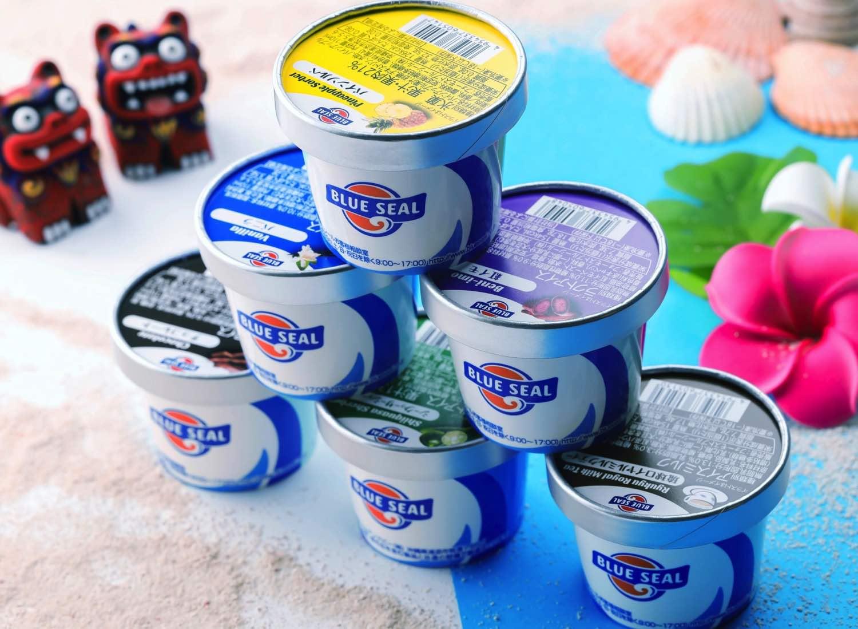 沖繩人氣雪糕品牌「 Blue Seal 」登港  6 大口味必試