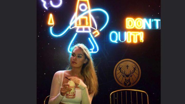 太空主題酒吧 Space X 登陸銅鑼灣  在漆黑的環境感受神秘感