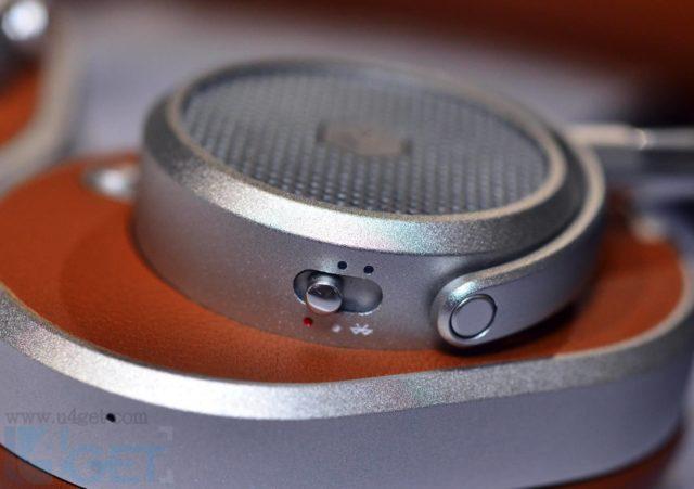 真皮+陽極氧化鋁製作  Master & Dynamic MW65 ANC 頭戴式耳機