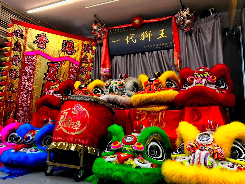 香港醒獅文化你知幾多?  「 柔功門夏國璋 POP UP 展覽 」認識本土文化