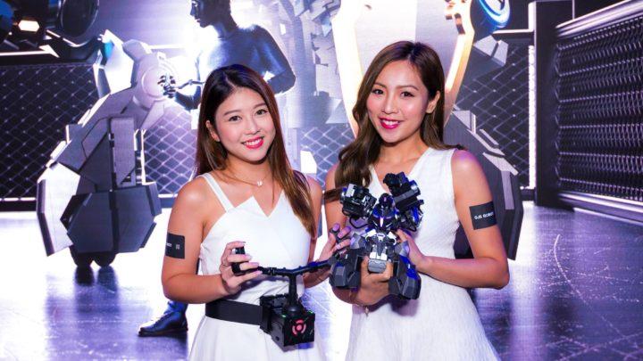 現實版機戰?  人機一體電競產品 GANKER EX 香港首發