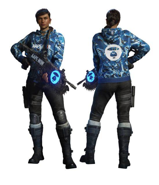 《 Gears 5 》主機套裝或光碟版遊戲優惠AAPE x Gears 5聯乘獨家塗裝