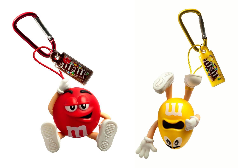 風趣呀紅樂觀呀黃做主角   M&M's 3D 八達通配飾鬼馬登場