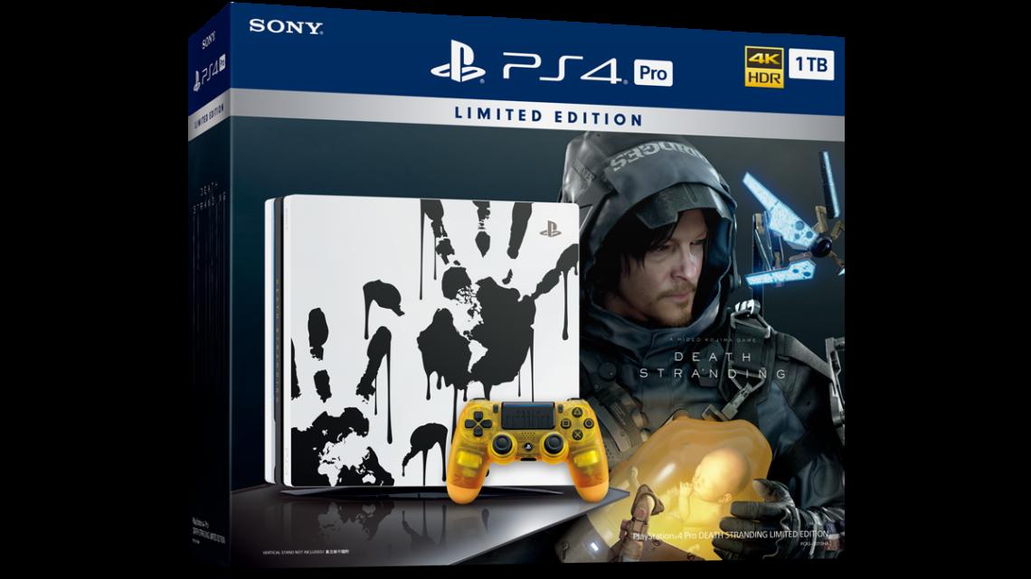 PlayStation4 Pro DEATH STRANDING Limited Edition 11 月限量發售