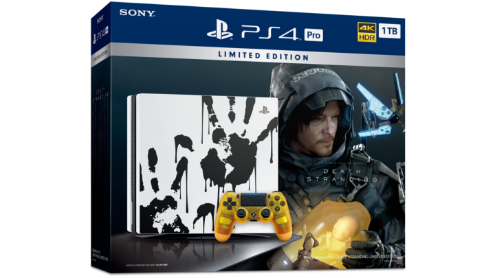 PlayStation4 Pro DEATH STRANDING Limited Edition 11 月限量發售