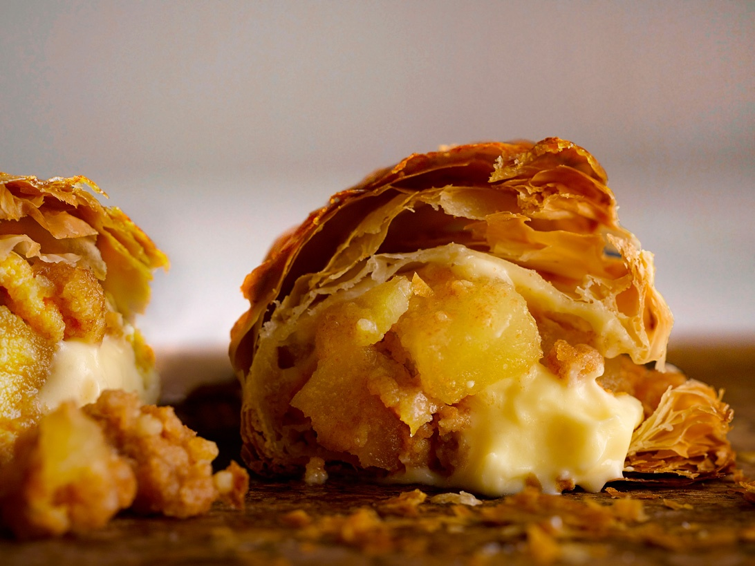 日本人氣品牌 RAPL 吉士醬蘋果批登港 青森蘋果 144 層鬆脆酥皮