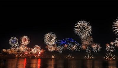 哈伊馬角希望以最酷炫的 2020 跨年夜煙花秀再創新的吉尼斯世界紀錄