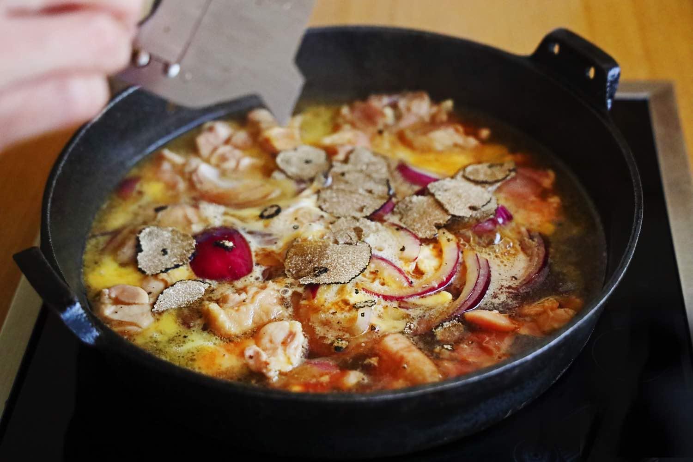 SHIMO 霜月呈獻全新廚師發辦壽喜燒套餐 鹿兒島薩摩赤雞二食 一鍋