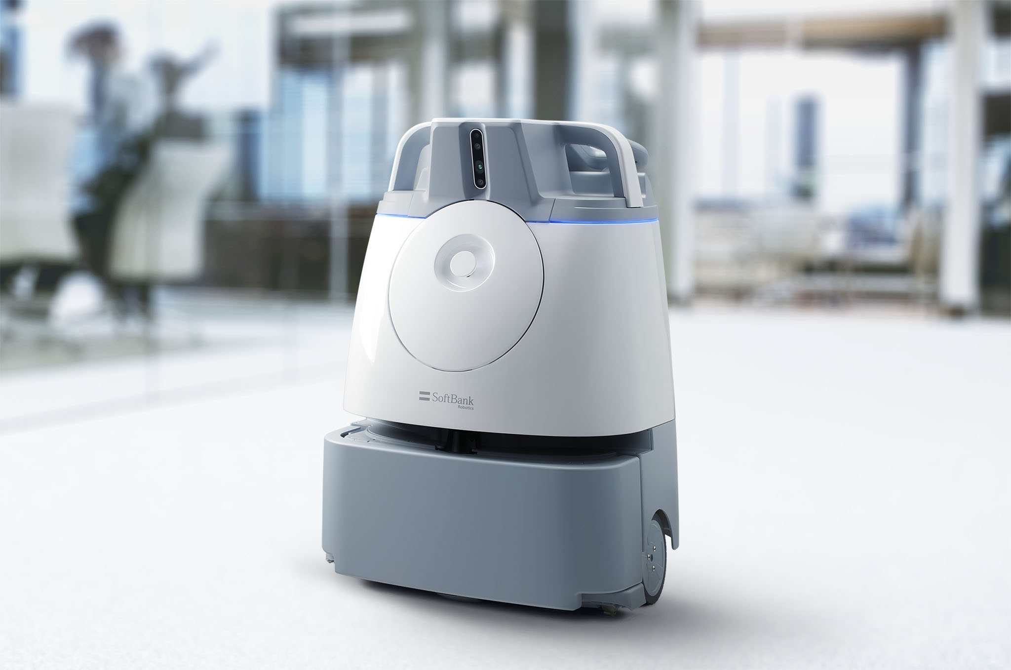 SoftBank Robotics 衝出日本  商用吸塵機械人Whiz 登陸港澳