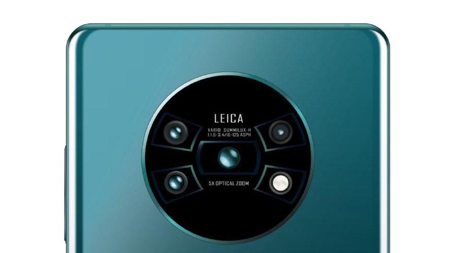 全球發佈 HUAWEI Mate 30 系列     Leica 四鏡頭配 Kirin 990  步向 5G