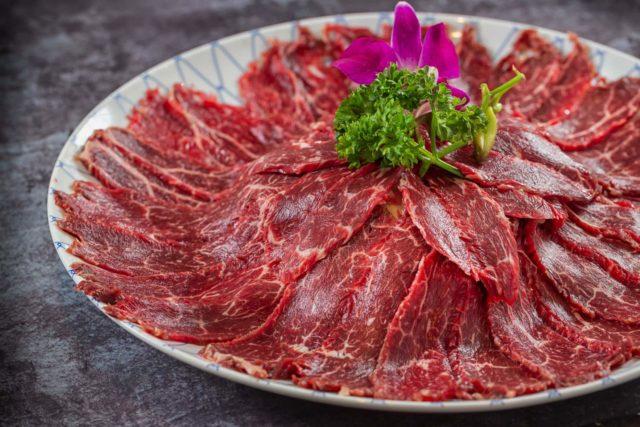 北角匯「 天藍中日火鍋料理 」  刁鑽「天藍極品牛肉盛盤」試勻6大牛部位