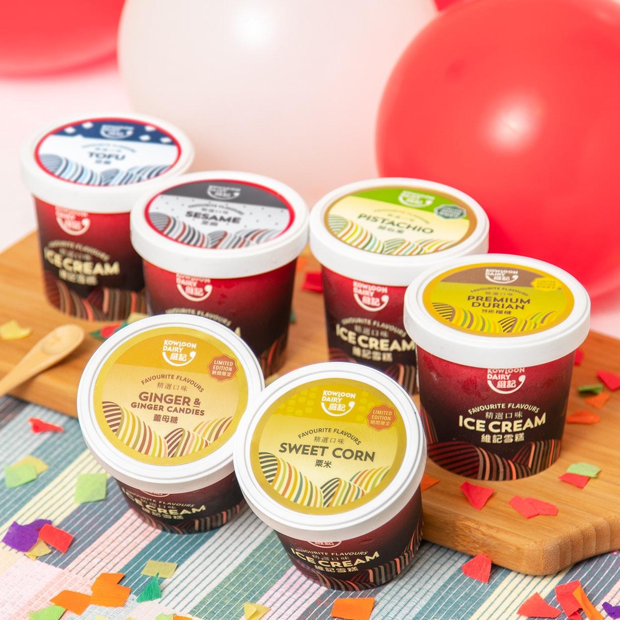 維記雪糕杯新口味  粟米、薑母糖雪糕杯登陸 7- Eleven 便利店