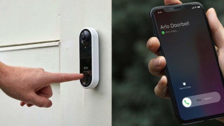 結合高清實時視頻及雙向語音功能  Arlo Video Doorbell 監視你門口