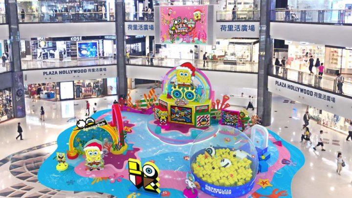 海綿寶寶 x GRAFFLEX『超想像』聖誕遊樂場  打造全新海綿寶寶