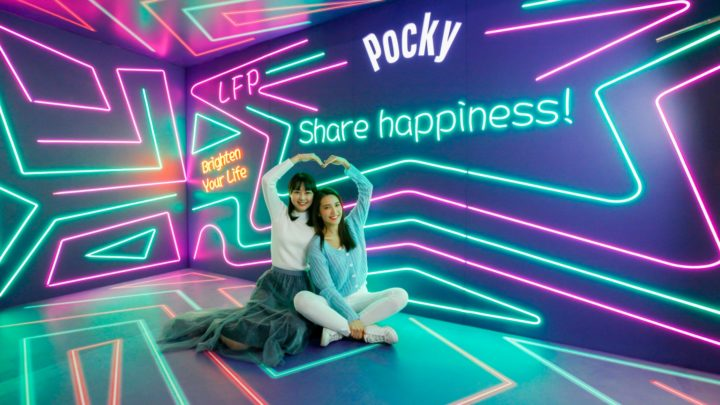 Pocky Deco Art 展首登香港   樂『脆』照相館日系主題場景