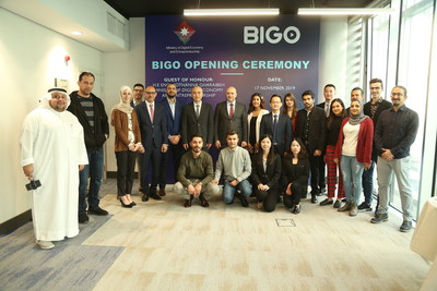 約旦經濟及創業大臣 Mothanna Gharaibeh 為 BIGO 的安曼辦公室開幕