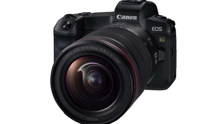 Canon EOS Ra 天文攝影專用全片幅數碼無反相機 拍攝不一樣的星空