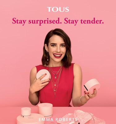 TOUS 推出由 Emma Roberts 主演的新廣告