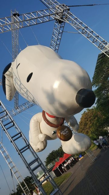 SnoopyRun Hong Kong2019  首設10 米高戶外充氣Snoopy 打卡放閃