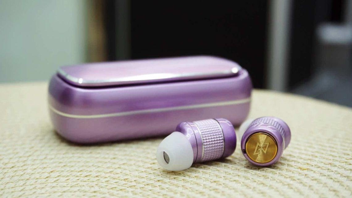AVIOT TE-BD21f  紫色限量版   2 鐵 1 圈單元組合提高頻率響應範圍