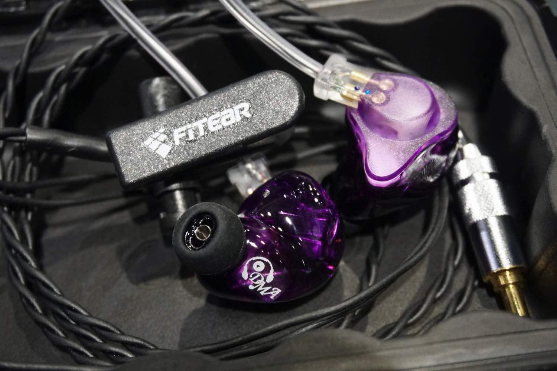 君「紫」好逑夠搶眼   FitEar TO GO! 335  紫色別注版