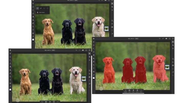 Adobe Photoshop on iPad新增「選取主體」功能提升退地速度