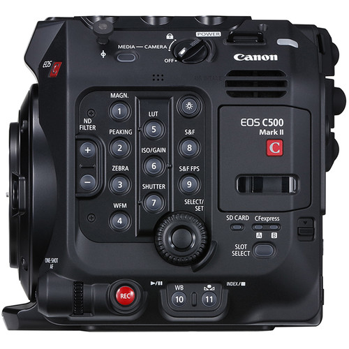 Canon EOS C500 Mark II 專業級換鏡 5.9K 全片幅攝錄機