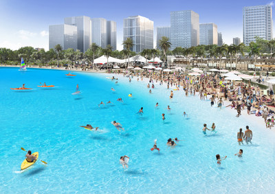 Crystal Lagoons 和 NexPlan 一起在韓國開發30個向公眾開放的人工湖