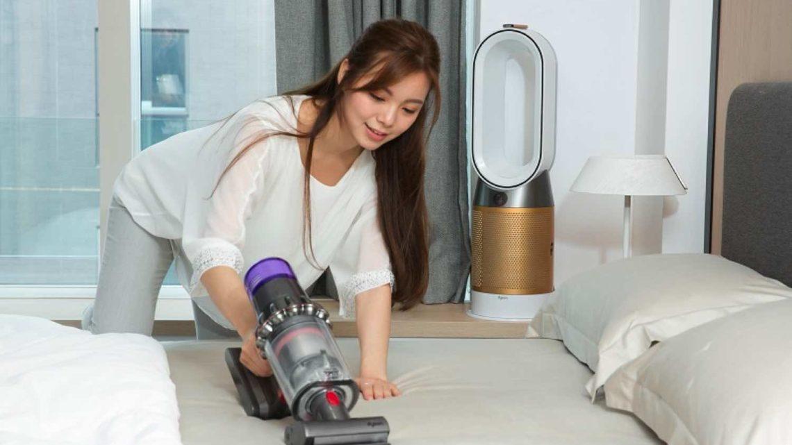 「 Dyson智能家電 」大掃除 高科技吸塵機擺脫灰塵致敏煩惱