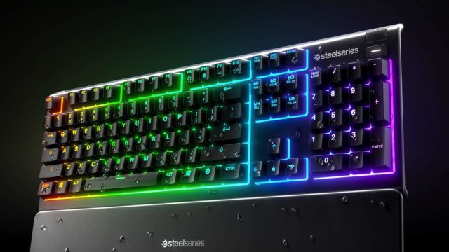 Rival 3、Apex 3及Apex 5電競鍵盤 SteelSeries