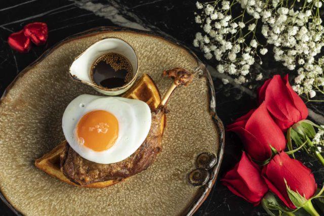 Duck & Waffle Hong Kong 情人節限定餐單 與愛侶共渡難忘一夜