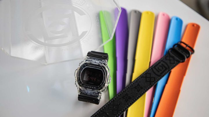 G-SHOCK x CLOT 再度聯乘! G-SHOCK DW-5750CL19-1 可拆式錶帶