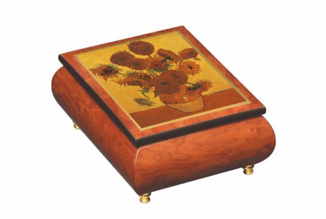 Ercolano 木製音樂首飾盒  暖心情人節禮物延續浪漫時光