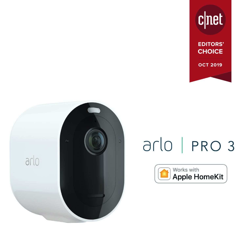 終於支援Apple HomeKit !  Arlo Pro 3 / VMB4540型號基座融入智能家居