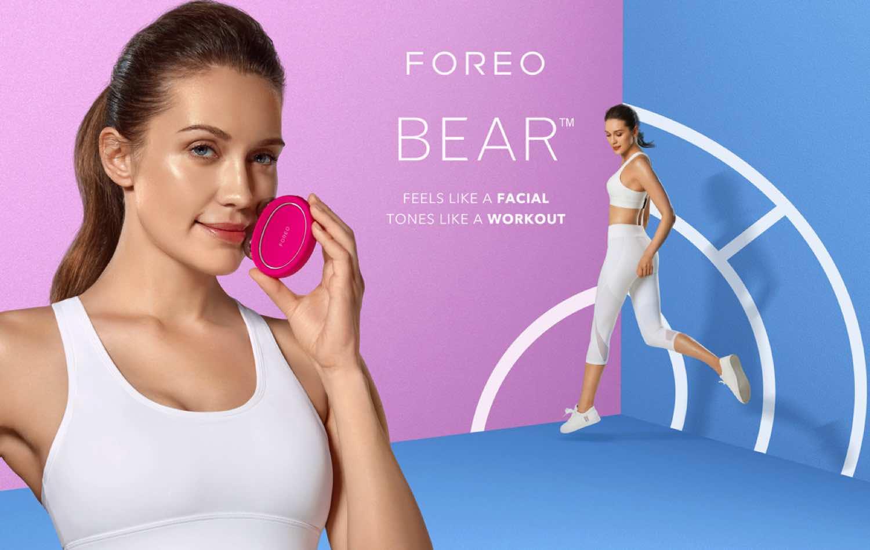 FOREO BEAR & BEAR mini 智能微電流美容儀  迷你美肌教練激發年輕力量