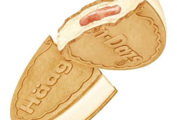 日本直送新口味!    Häagen-Dazs 軟芝士無花果冧酒脆皮雪糕三明治