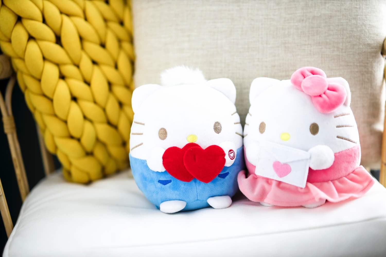 7-Eleven 情人節限定 Hello Kitty & Dear Daniel 公仔套裝