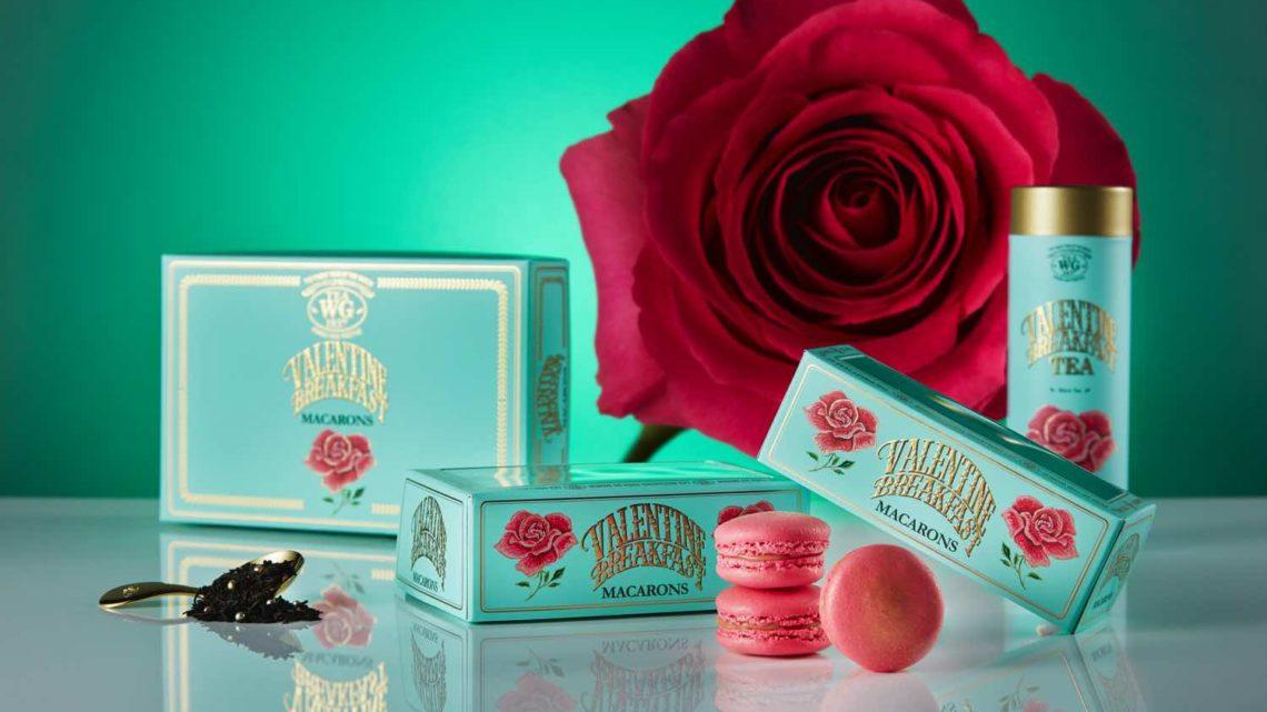 TEA WG 帶來甜蜜浪漫情人節 推出 Valentine Breakfast Tea