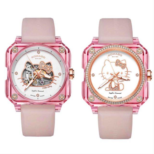 情人節禮物無頭緒?  ROMAGO SWISS Hello Kitty 限量手錶幫到手